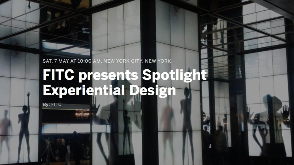 FITC Spotlight Experiential Design   STASH MAGAZINE