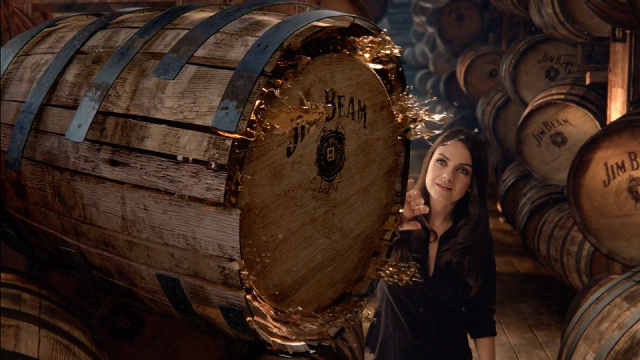 Hangin' in the Rack House with Mila Kunis and Jim Beam
