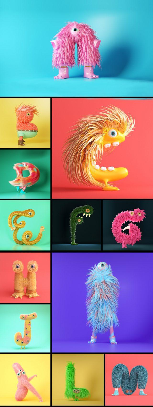 Furry Alphabet animation | STASH MAGAZINE