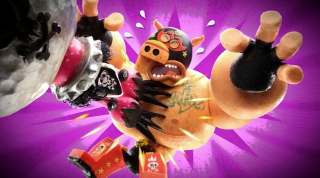 Nickelodeon Super Macho Fighter | STASH MAGAZINE