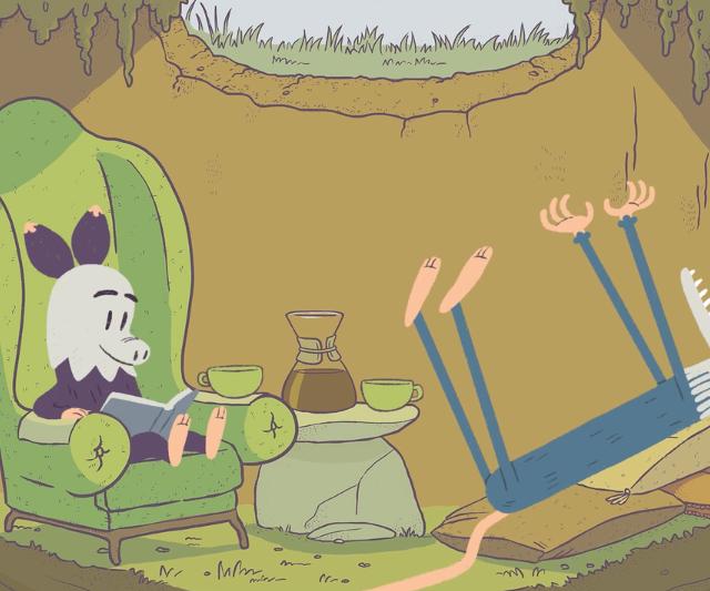Oh Possum Animated Short| STASH MAGAZINE