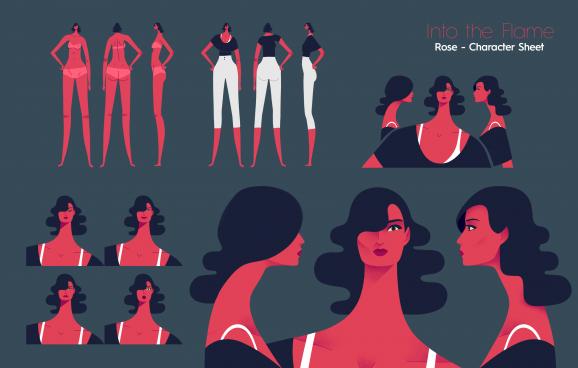 Into The Flame Hue&Cry animated short film | STASH MAGAZINE