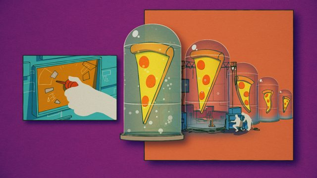 """""""Pizza Forever"""" music video by Impactist   STASH MAGAZINE"""