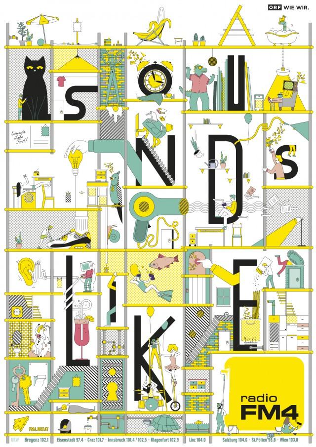 Sounds Like_FM4 Poster | STASH MAGAZINE