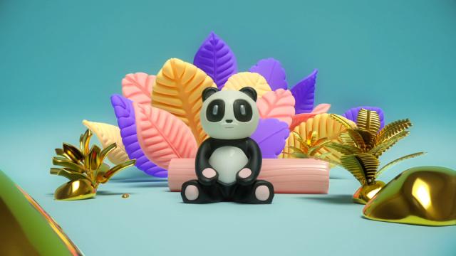 Witness the Enlightenment of Cosmic Panda