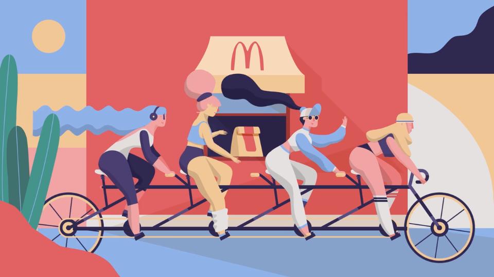 McDonalds Car Free Day | STASH MAGAZINE