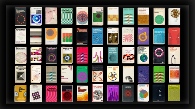 55 Animated Vintage Book Covers