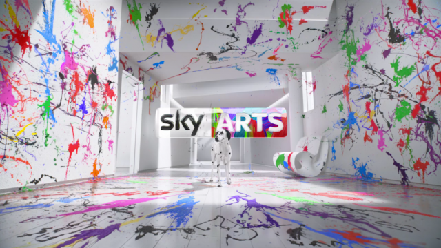 Spectacular Sky Arts Rebrand IDs via MPC