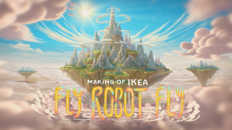 Making of Ikea Fly Robot Fly | STASH MAGAZINE