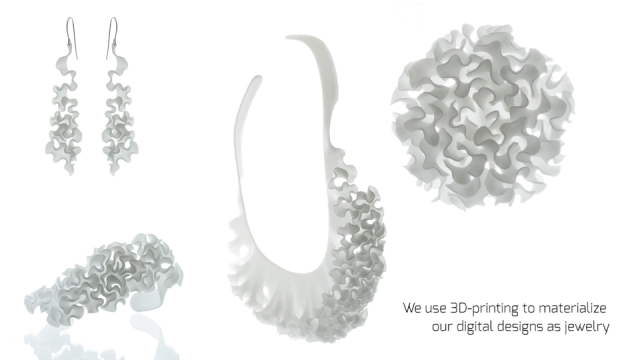 Nervous System_3D printed jewelry | STASH MAGAZINE