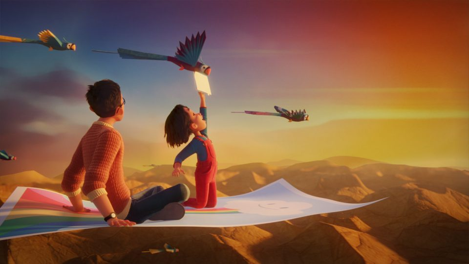 HP Magic Carpet commercial by Smith & Foulkes | STASH MAGAZINE
