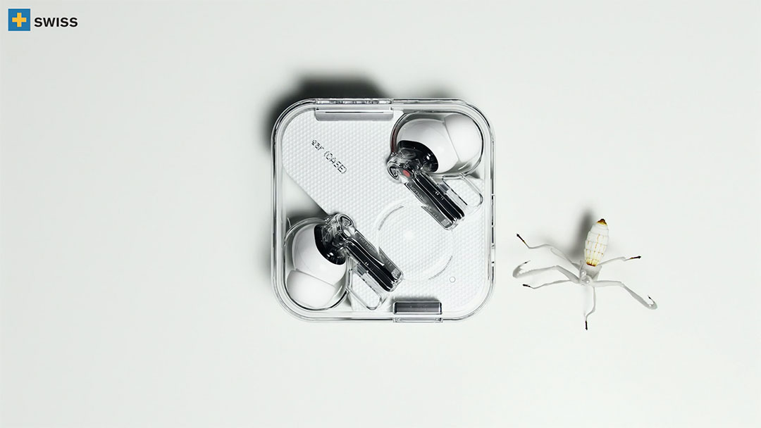 Nothing Ear Techno Ballet by Swiss International   STASH MAGAZINE