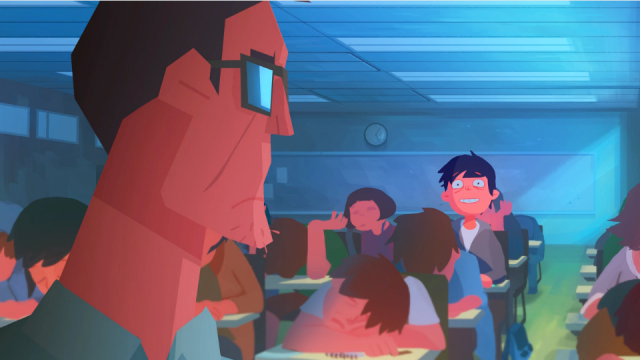 Afternoon Class animated short film   STASH MAGAZINE
