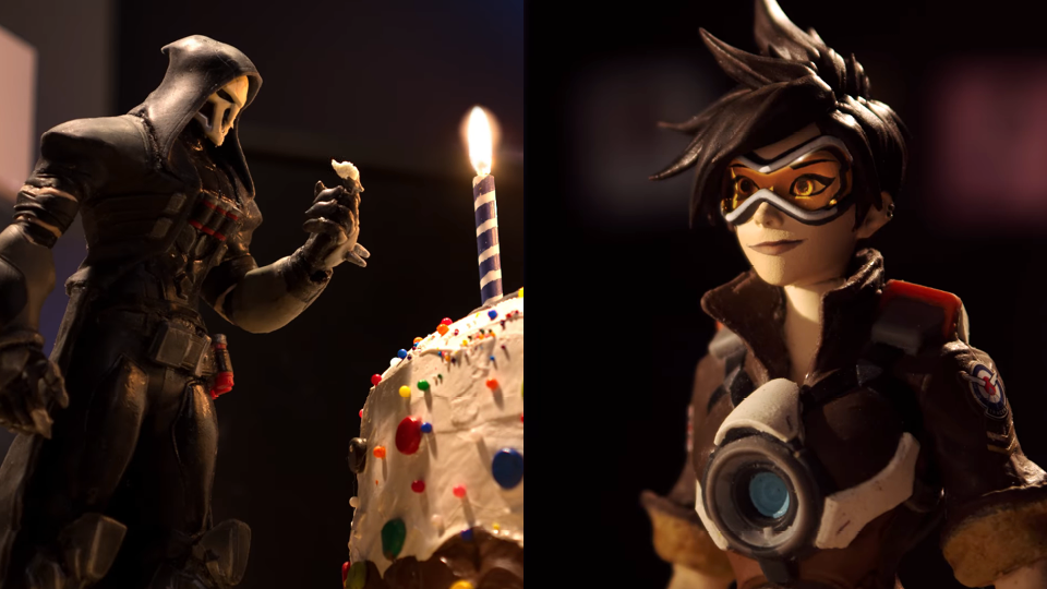Blizzard Overwatch 2nd Anniversary stop motion animation behind the scenes | STASH MAGAZINE