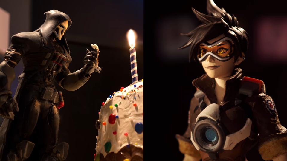 Blizzard Overwatch 2nd Anniversary stop motion animation behind the scenes   STASH MAGAZINE