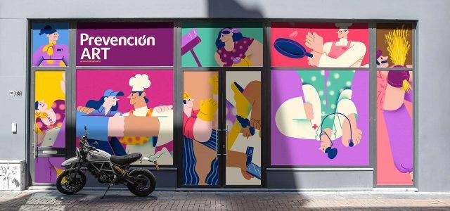 "Prevención ART ""People United"" Explainer by Juan Casal | STASH MAGAZINE"