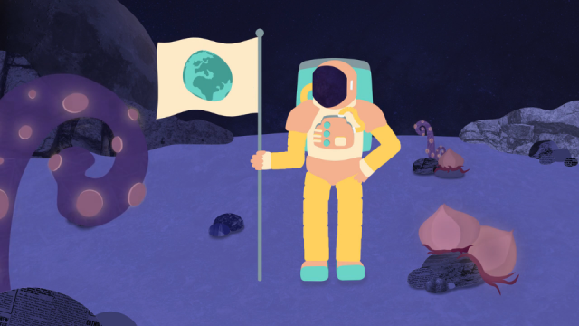 Pale Blue Dot animated short film | STASH MAGAZINE