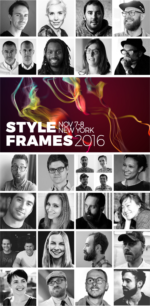 STYLE FRAMES speakers | STYLE FRAMES
