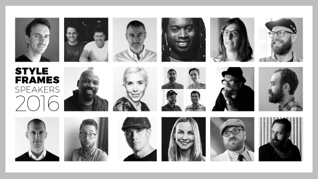 Meet the First Wave of STYLE FRAMES 2016 Speakers