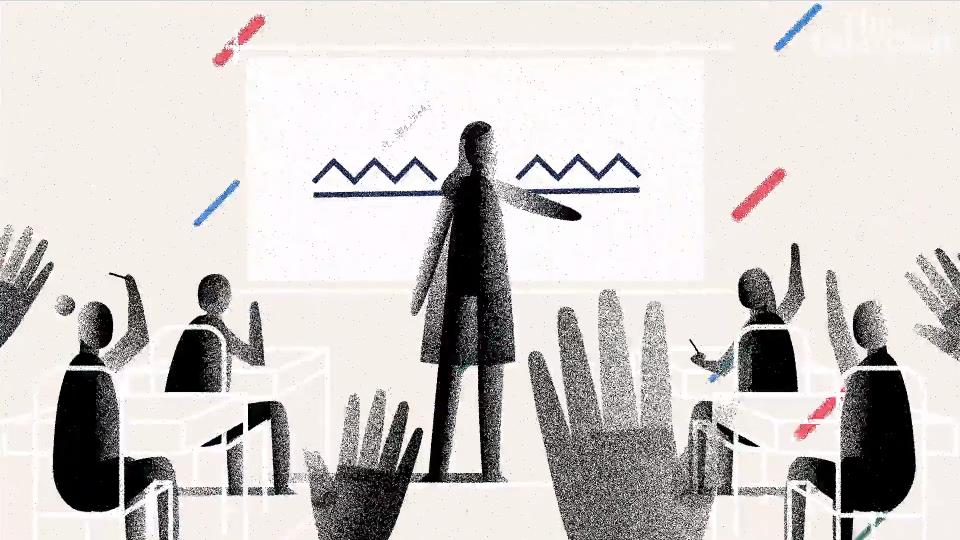 The Guardian Teachers In America animated explainer video George Shelbourn | STASH MAGAZINE