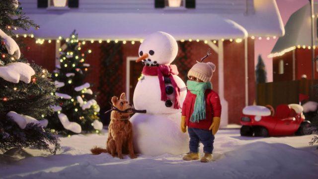It's Dog vs Snowman in Greenies New Stop-motion Spot
