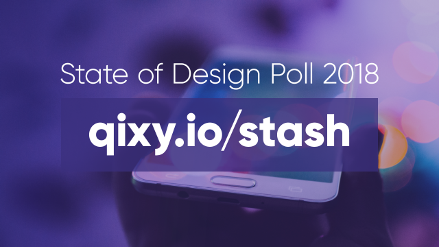 Stash State of Design Poll 2018