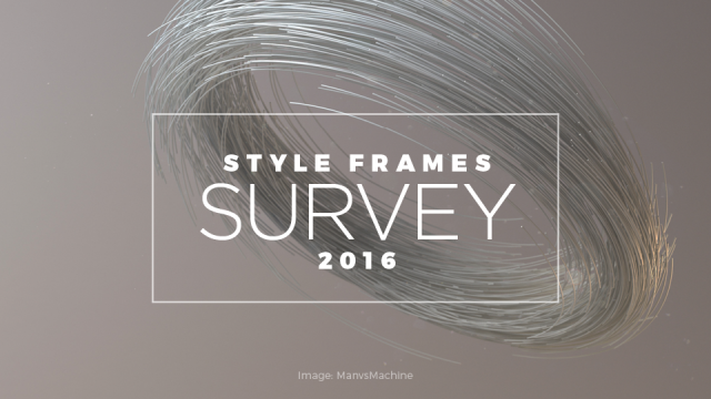 Take the 3-min STYLE FRAMES Creative Survey