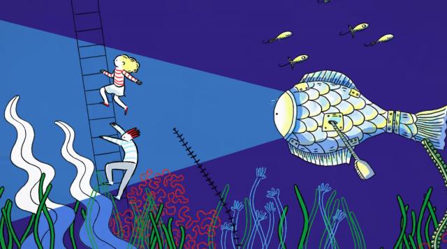 Rone Mirapolis music video Aurelie Castex animation | STASH MAGAZINE