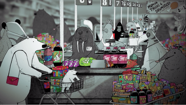 Wantaways The Turning Point by Steve Cutts | STASH MAGAZINE