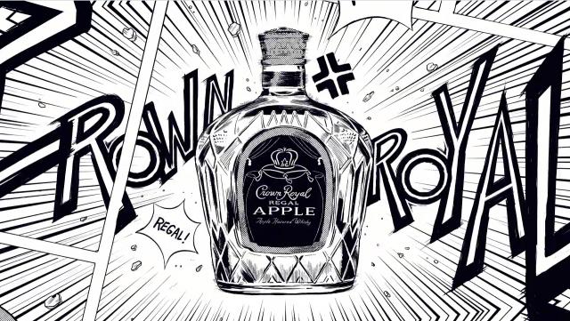 Crown Royal Apple by Golden Wolf | STASH MAGAZINE