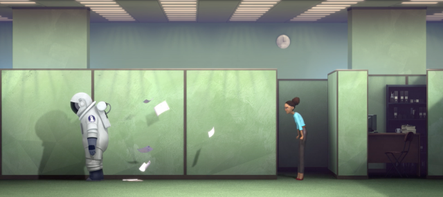 Sans Gravity (No Gravity) short film   STASH MAGAZINE