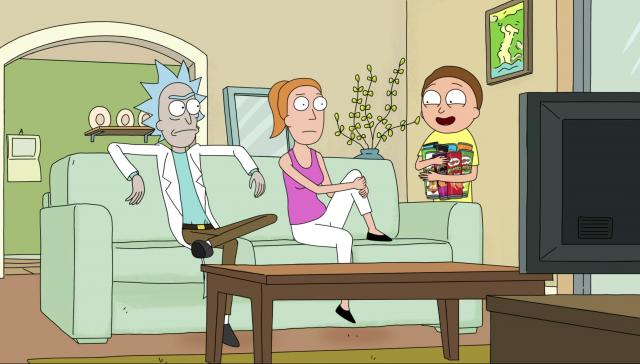 Pringles Rick and Morty Super Bowl Commercial | STASH MAGAZINE