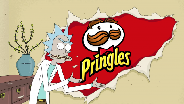 Pringles Rick and Morty Super Bowl Commercial | STASH MAGAZINE