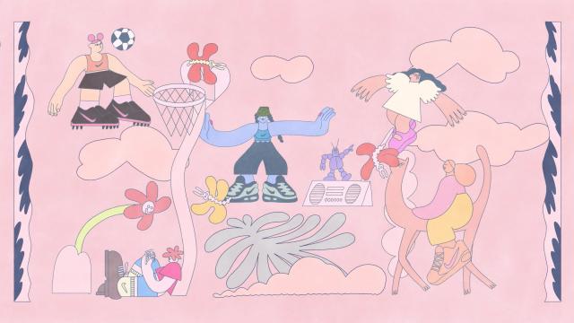 Nike Kids Bra by Sophie Koko Gate | STASH MAGAZINE