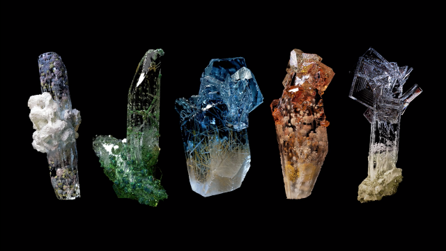 Beautiful Minerals Waiting to Be Found