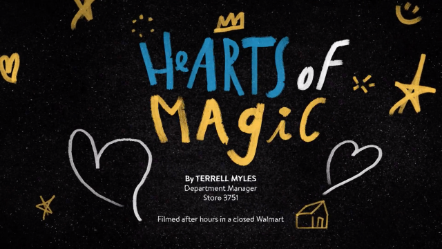"Walmart ""Hearts of Magic"" spot by Lobo | STASH MAGAZINE"