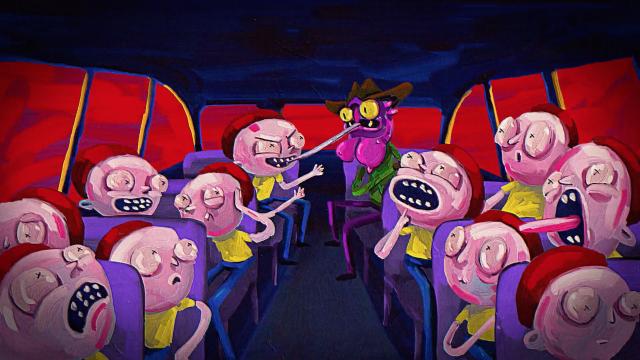 Rick and Morty Dreams ID | STASH MAGAZINE