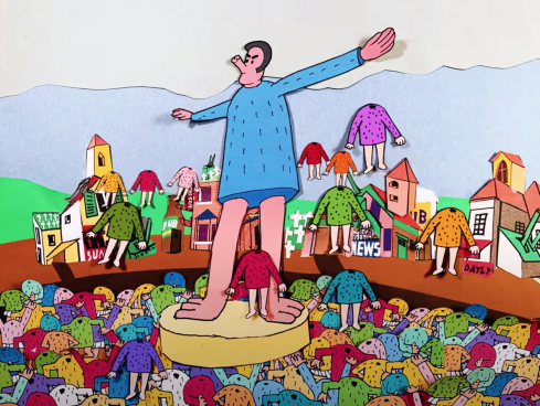 IDLES The Village music video by Michel and Olivier Gondry | STASH MAGAZINE