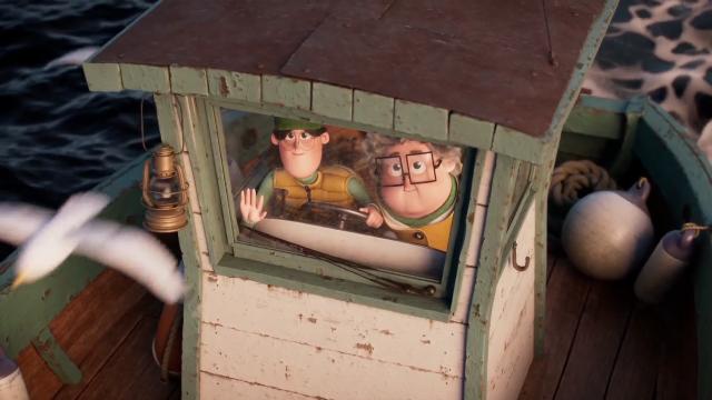 France Alzheimer 'The Sailors' commercial by MegaComputeur   STASH MAGAZINE