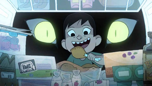 Greenpeace There's a Monster in My Kitchen commerical by Cartoon Saloon   STASH MAGAZINE