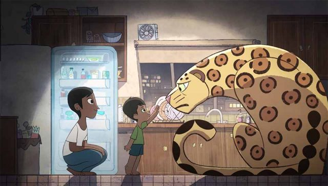 Greenpeace There's a Monster in My Kitchen commerical by Cartoon Saloon | STASH MAGAZINE