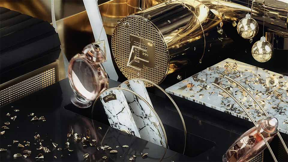 """Paco Rabanne """"PacoLab"""" by Frame"""