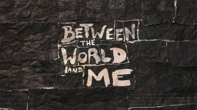 HBO Between the World and Me titles by Elastic | STASH MAGAZINE