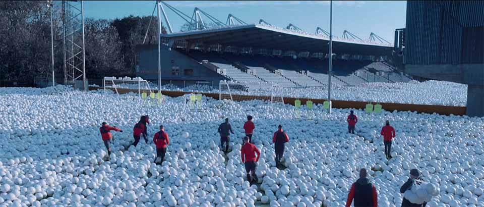 "Sky Sports ""Snowballs"" commercial | STASH MAGAZINE"