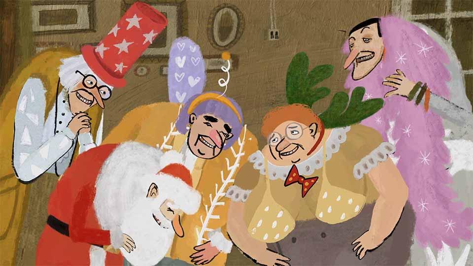 Merry Grandmas! Short Film by Natalia Mirzoyan | STASH MAGAZINE