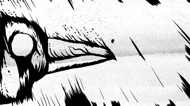 """Ted Hughes """"The Crow"""" Animated Poetry by Playdead 