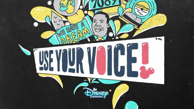 "Disney ""Use Your Voice"" MLK Day Promo by Creative Mammals 