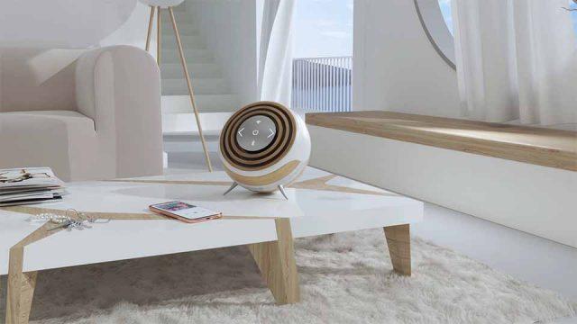 Lotus Bluetooth Speaker Product Concept by MyFlower Studio | STASH MAGAZINE