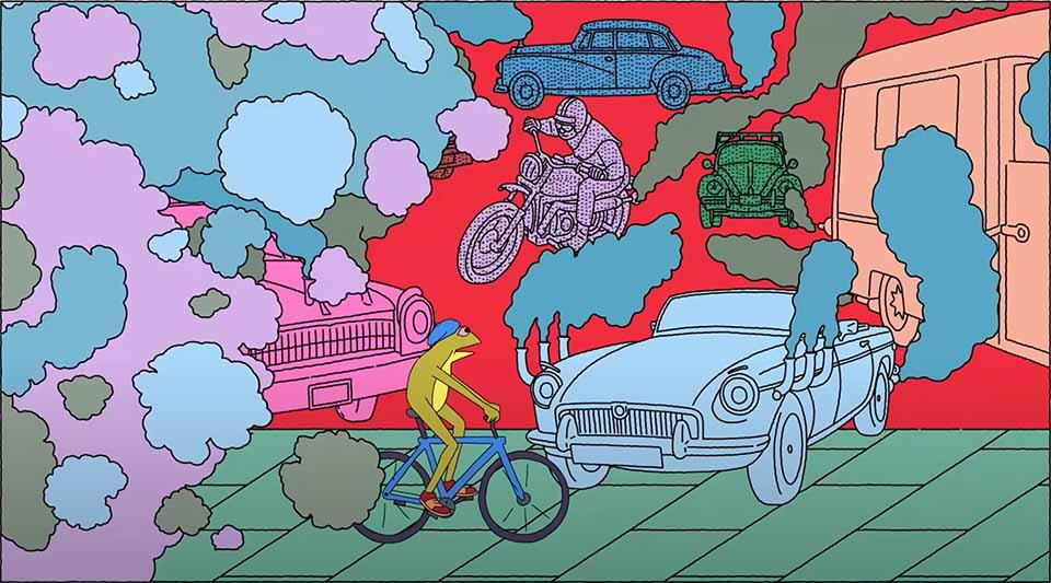 "VanMoof ""Rethink the City. Reimagine the Future"" by Jim Stoten and Bewilder"