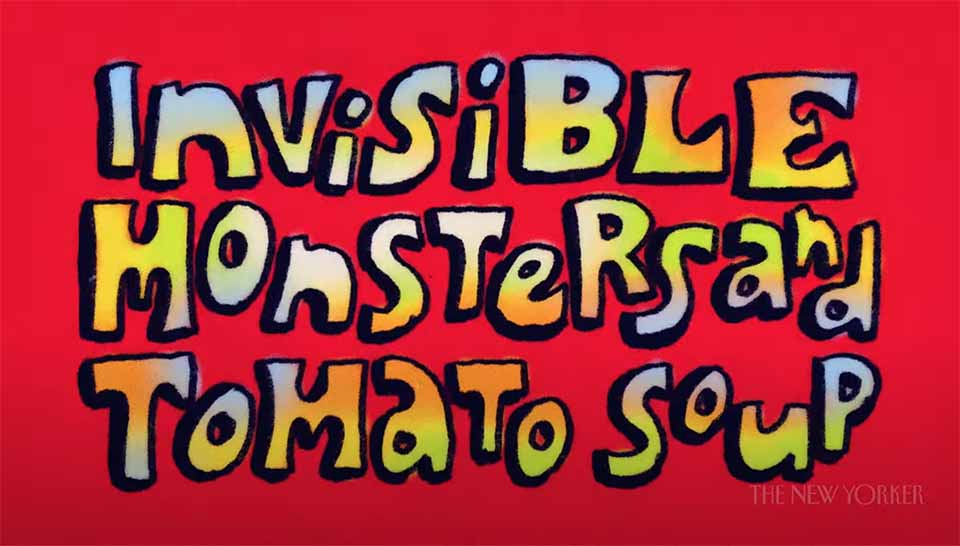 """""""Invisible Monsters and Tomato Soup"""" or How I Learned to Love Dreaming During COVID"""